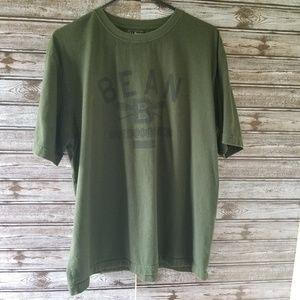 729112b397f9 L.L. Bean Shirts | Mens Ll Bean Shortsleeved Graphic Tshirt Size L ...